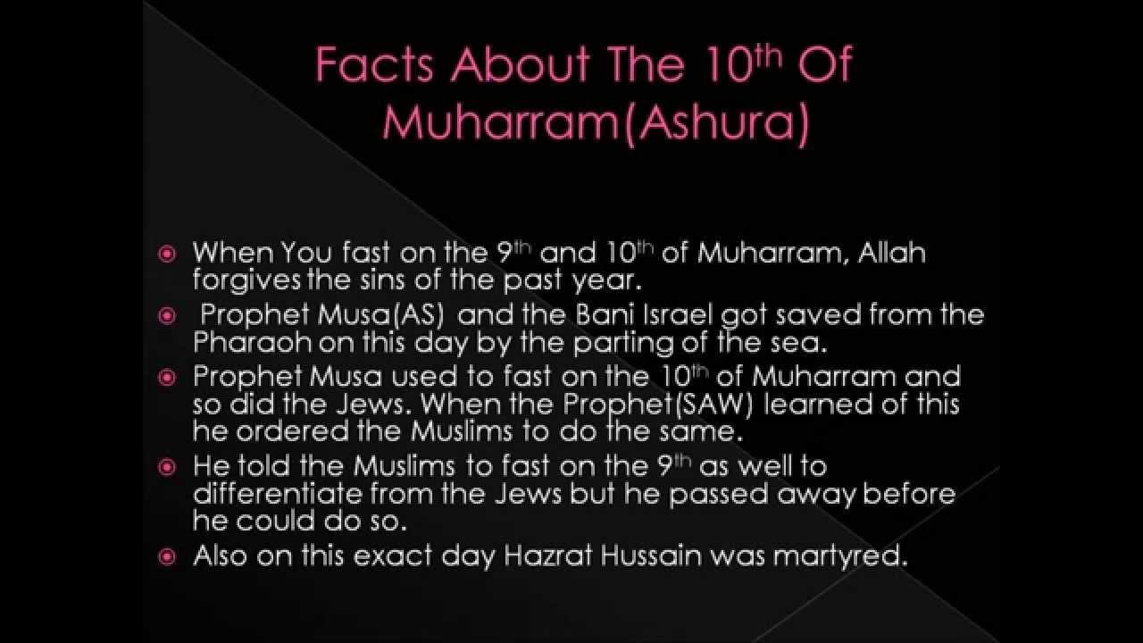 Fasting On 10th Muharram