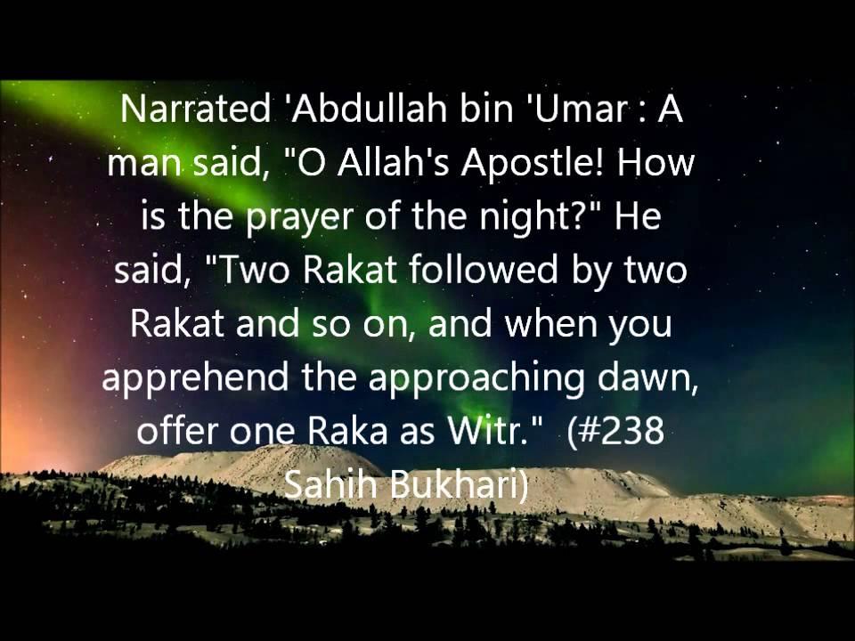 Importance of Tahajjud Prayer
