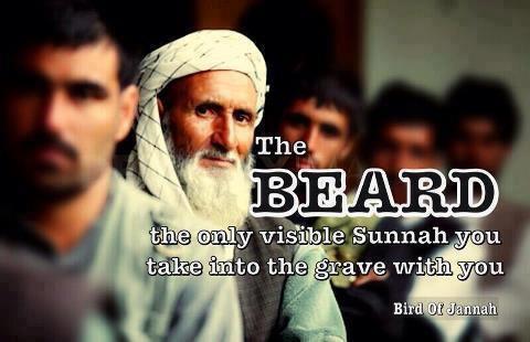Beard in Islam Hadith