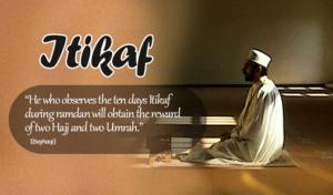 vow for Itekaf