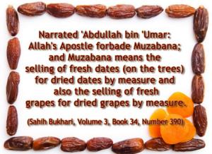Muzabana in islam