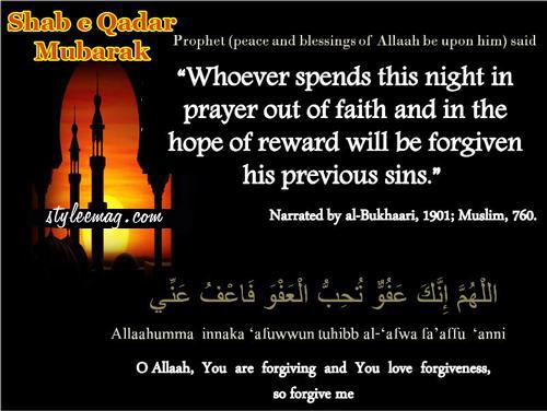 what to pray on shab e barat night