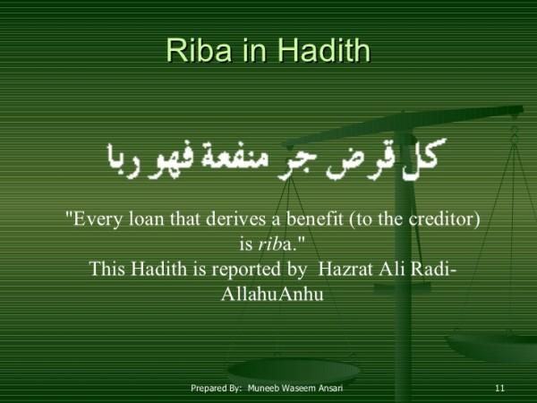 loans in islam