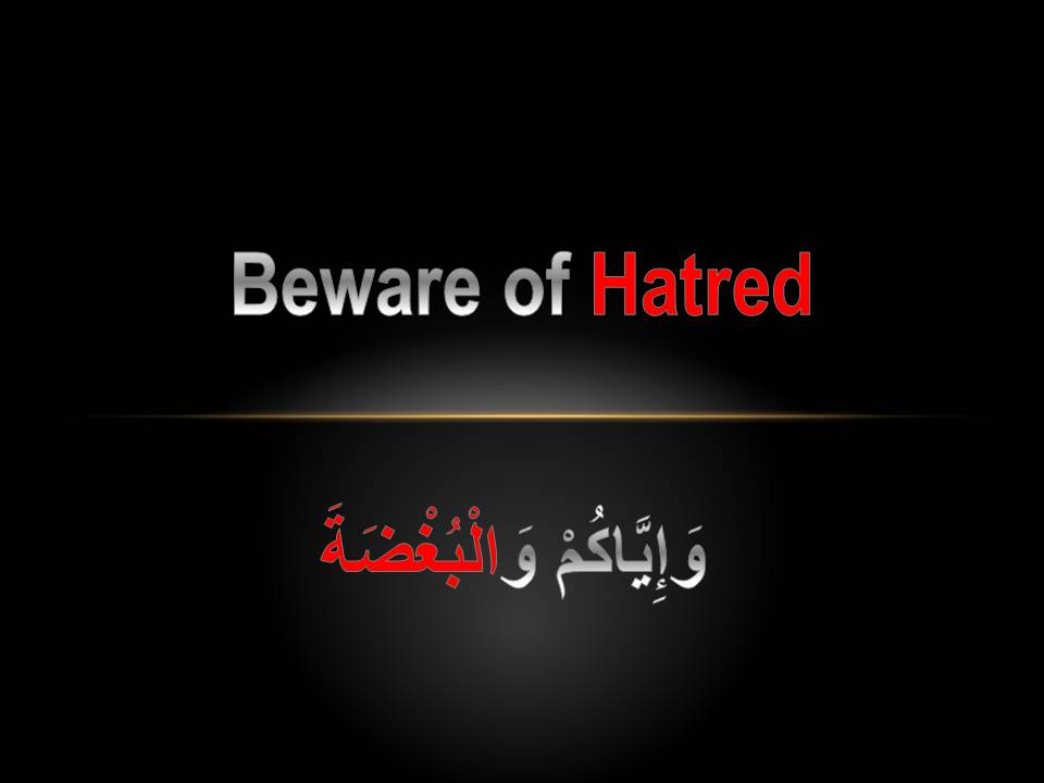 Hatred in Islam