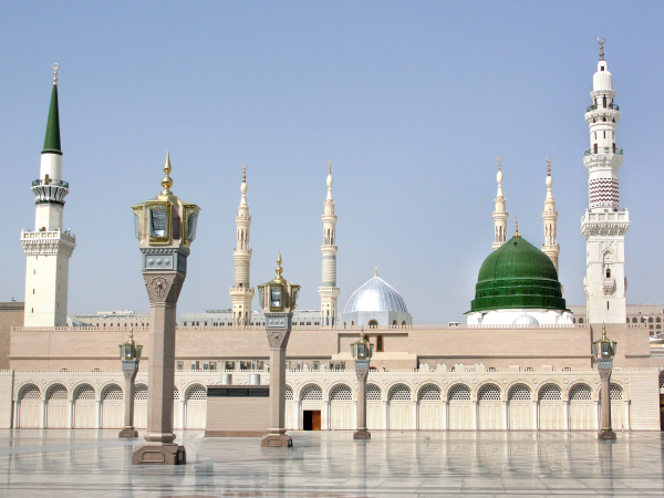 Mosque of the Prophet Muhammad Sallallahu alaihi wa sallam Madinah