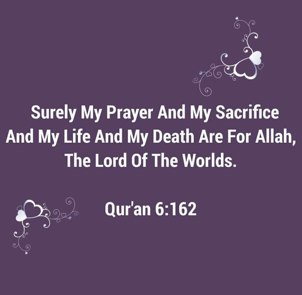 sacrifice for allah