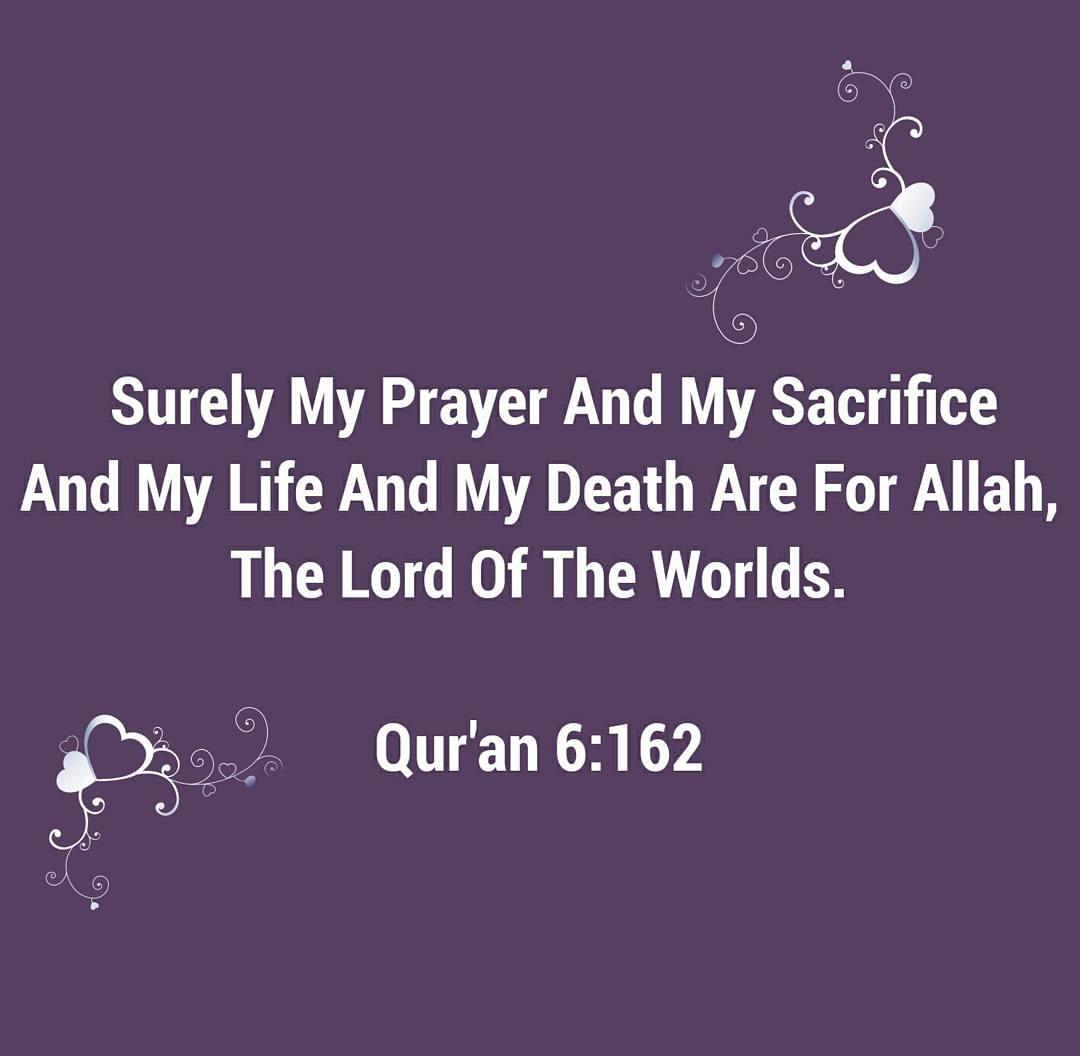 sacrifice for allah