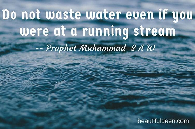 Do not Waste Water