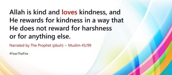 Hadith be kind to others