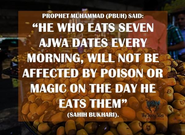 hadith ajwa dates