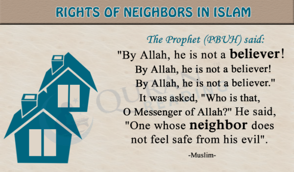 Rights of Neighbours in Islam