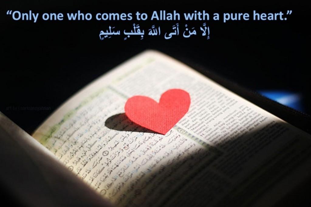pure heart in islam