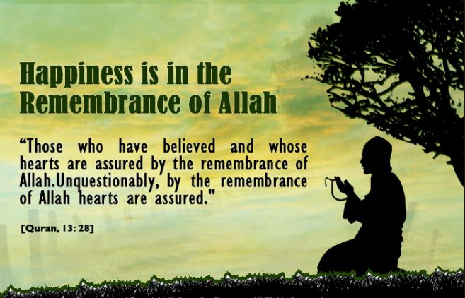 heart which remembers Allah