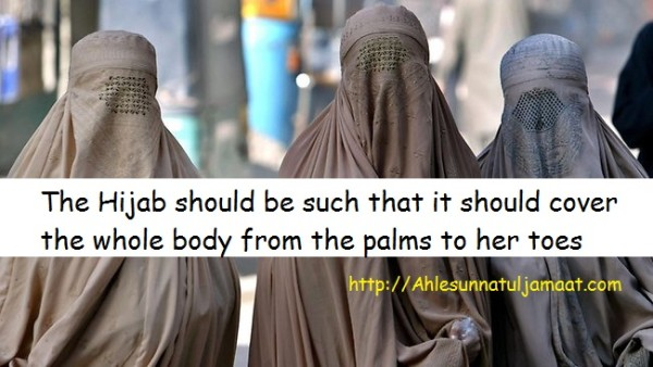 Qualities of Burqa