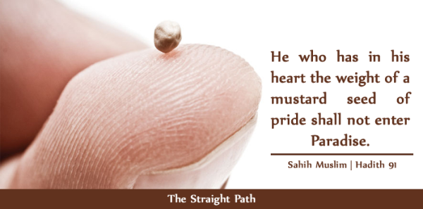 Hadith on Pride